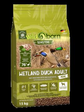 Wildborn Wetland Duck Adult MINI mit viel frischer Ente 15kg