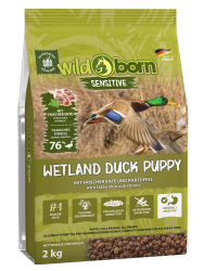 Wildborn Wetland Duck Puppy Sensitive mit viel frischer Ente 2kg