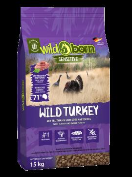 Wildborn Wild Turkey mit Truthahn 15kg
