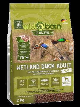 Wildborn Wetland Duck Adult MINI mit viel frischer Ente 2kg