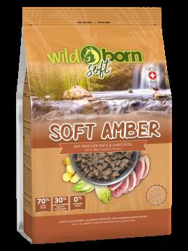 Wildborn SOFT AMBER mit frischem Schweizer Entenfleisch 1kg