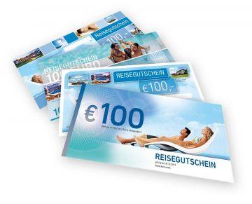 Reisegutschein über 100,-¤ für alle Pauschalreisen