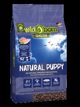 Wildborn Natural Puppy mit Gefügel & Pangasius 4kg & 4kg gratis Aktion