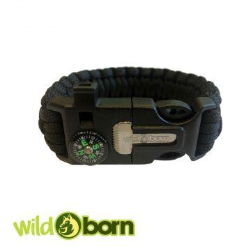 Wildborn Armband Wildnis 5 in 1 Multifunktionsarmband